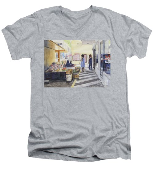 St Martin Locals Men's V-Neck T-Shirt