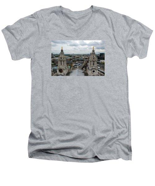 St Paul's View Men's V-Neck T-Shirt