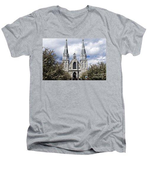 St. Thomas Of Villanova 2 Men's V-Neck T-Shirt