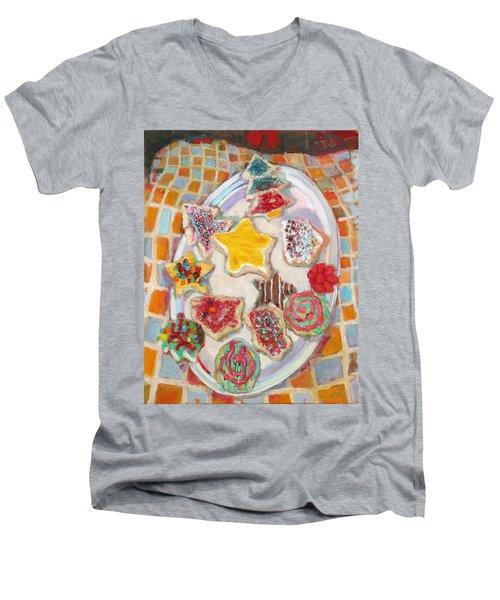 St003 Men's V-Neck T-Shirt
