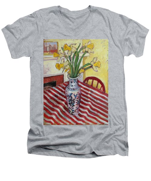 St009 Men's V-Neck T-Shirt