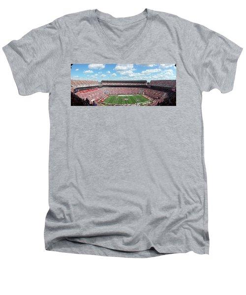 Stadium Panorama View Men's V-Neck T-Shirt