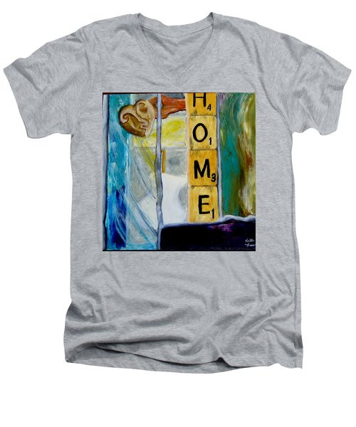 Stained Glass Home Men's V-Neck T-Shirt