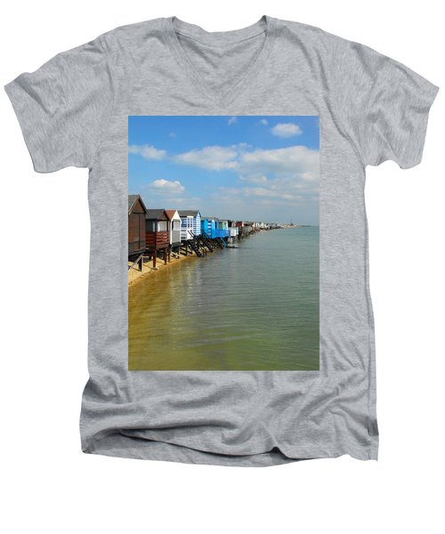 Stairs To Sea Men's V-Neck T-Shirt