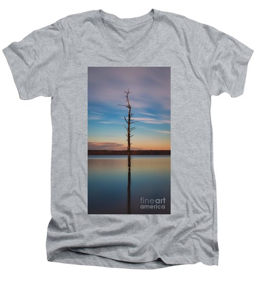 Stand Alone 16x9 Crop Men's V-Neck T-Shirt
