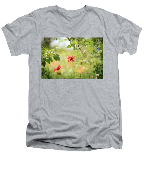 Stand Out Men's V-Neck T-Shirt
