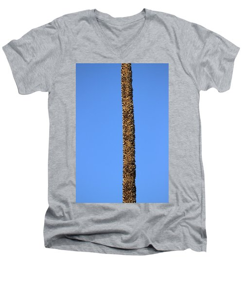 Standing Alone Men's V-Neck T-Shirt by Miroslava Jurcik