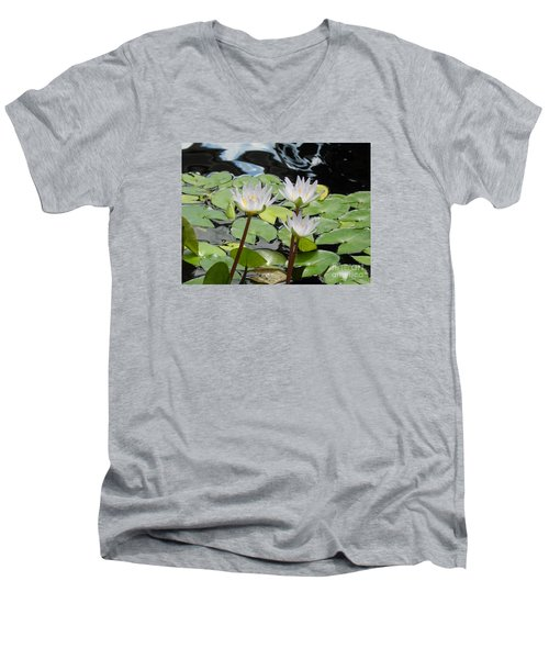 Men's V-Neck T-Shirt featuring the photograph Standing Tall by Chrisann Ellis