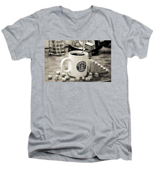 Star Of The Bucks Men's V-Neck T-Shirt by Gianfranco Weiss