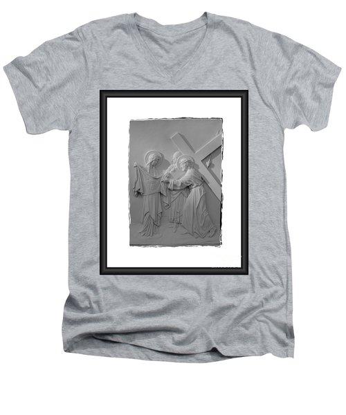 Station V I Men's V-Neck T-Shirt