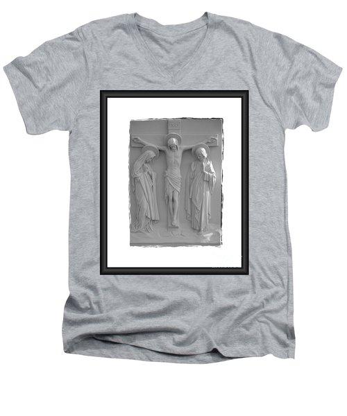 Station X I I Men's V-Neck T-Shirt