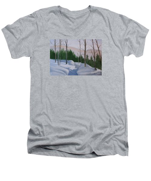 Stay On The Path Men's V-Neck T-Shirt