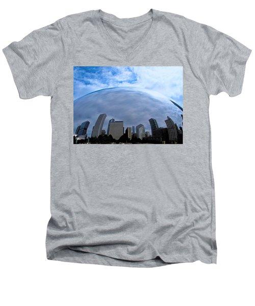 Steel Globe Men's V-Neck T-Shirt