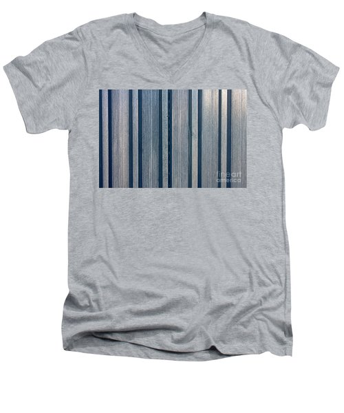Steel Sheet Piling Wall Men's V-Neck T-Shirt