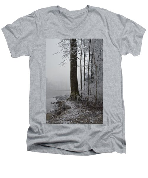 Steep And Frost Men's V-Neck T-Shirt