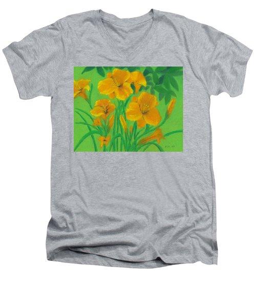 Stella De Oro Men's V-Neck T-Shirt