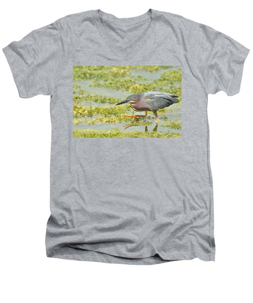 Stepping Out Men's V-Neck T-Shirt