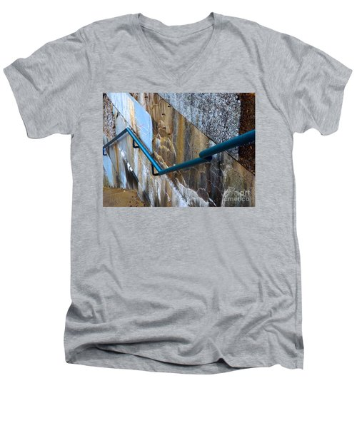 Stepping Outside The Lines Men's V-Neck T-Shirt
