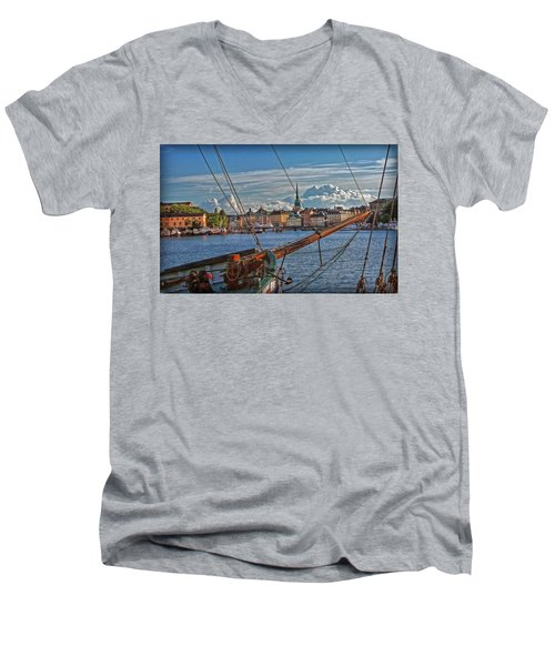 Stockholm Men's V-Neck T-Shirt
