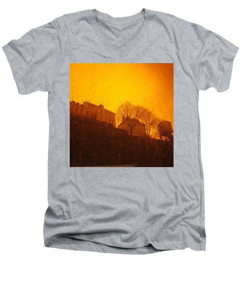 Stockholm The Heights Of South In Silhouette Men's V-Neck T-Shirt