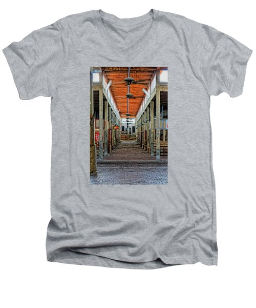 Stockyard Mall Men's V-Neck T-Shirt