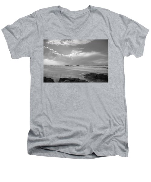 Storm Approaching Men's V-Neck T-Shirt by Roxy Hurtubise