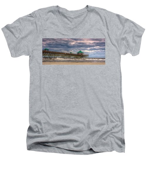 Storm Clouds Approaching - Hdr Men's V-Neck T-Shirt