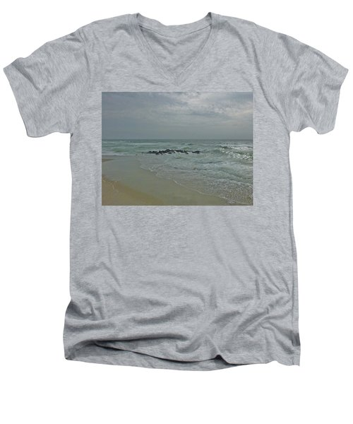 Storm In May Men's V-Neck T-Shirt