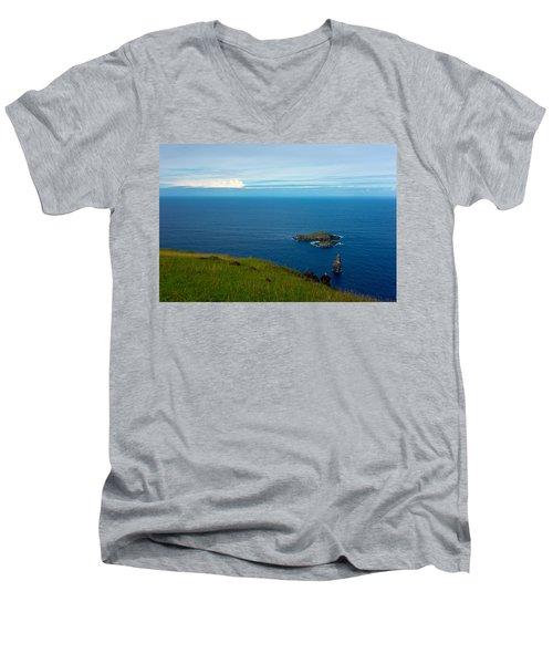 Storm On The Horizon Men's V-Neck T-Shirt