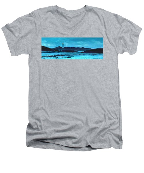 Storm's Brewing Men's V-Neck T-Shirt by Sophia Schmierer