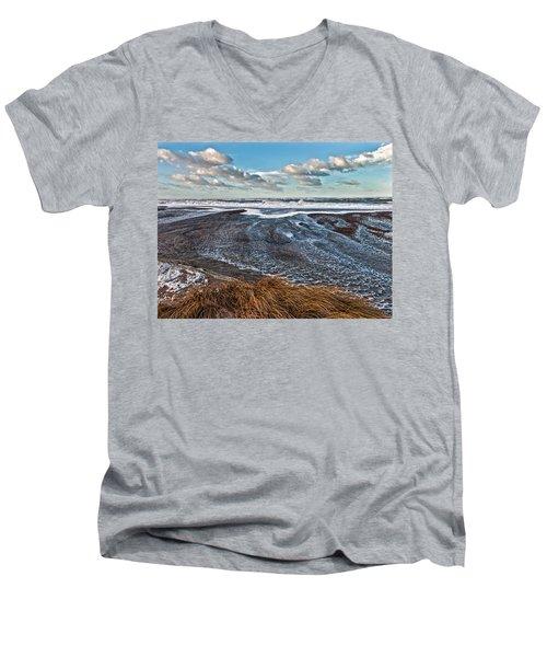 Stormy Beach Men's V-Neck T-Shirt