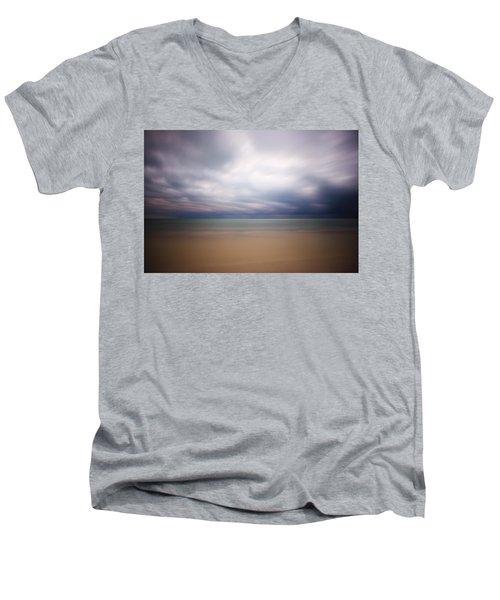 Stormy Calm Men's V-Neck T-Shirt