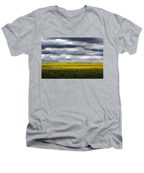 Stormy Plains Men's V-Neck T-Shirt