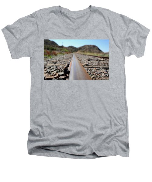 Straight And Narrow Men's V-Neck T-Shirt