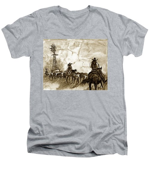 Strange Sky Men's V-Neck T-Shirt