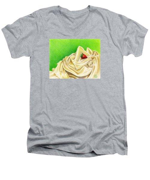Strawberry Passion Men's V-Neck T-Shirt