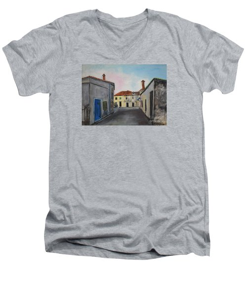 Street View From Kavran Men's V-Neck T-Shirt