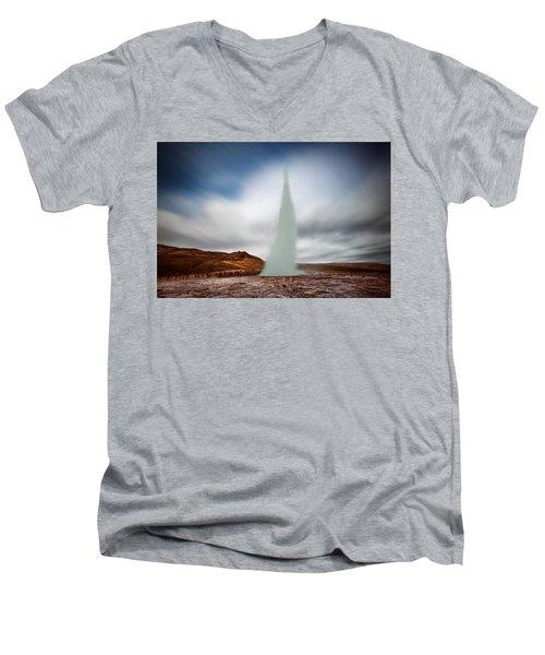 Strokkur Men's V-Neck T-Shirt