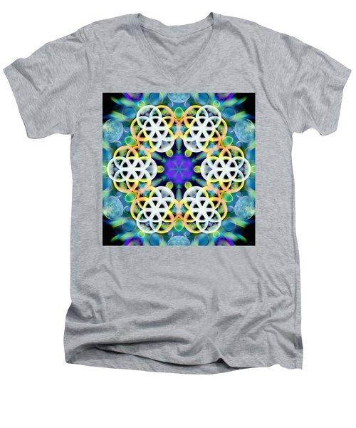Subatomic Orbit Men's V-Neck T-Shirt