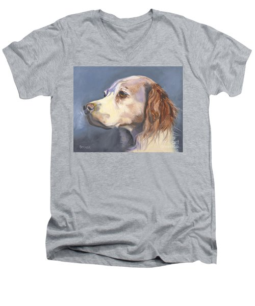 Such A Spaniel Men's V-Neck T-Shirt