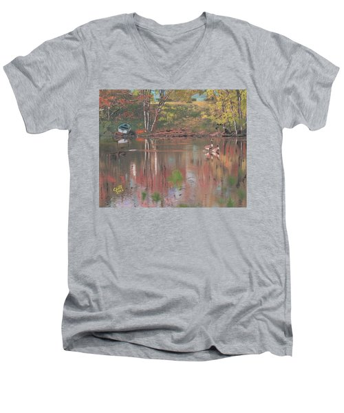 Sudbury River Men's V-Neck T-Shirt