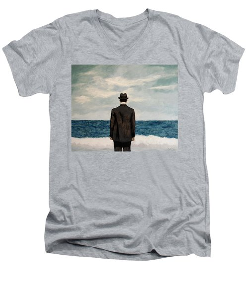 Suddenly Small Men's V-Neck T-Shirt