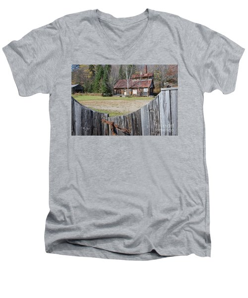 Sugar Shack Men's V-Neck T-Shirt