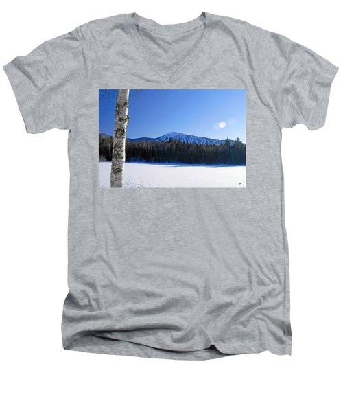 Sugarloaf Usa Men's V-Neck T-Shirt by Alana Ranney