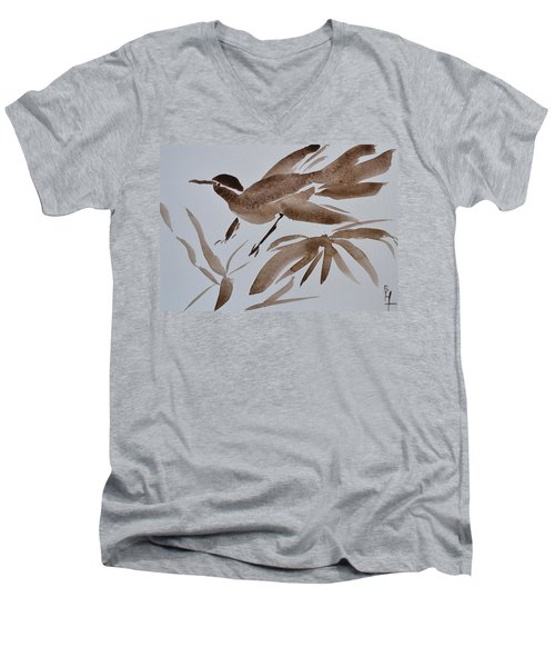 Sumi Bird Men's V-Neck T-Shirt