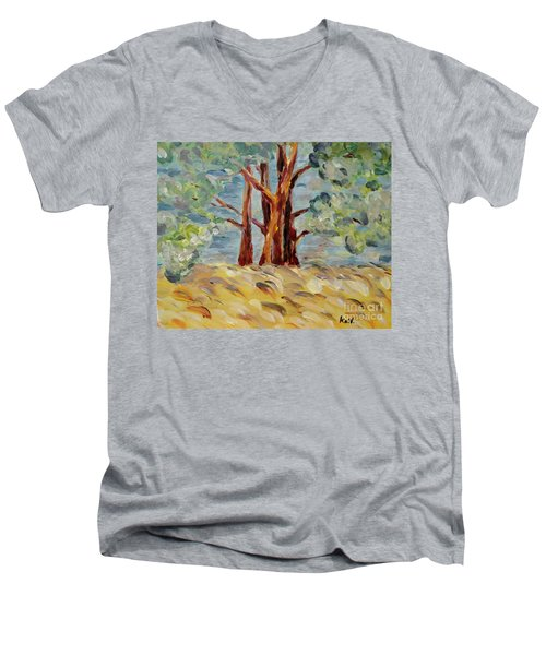 Summer Afternoon Men's V-Neck T-Shirt