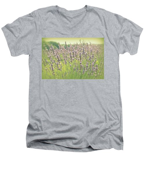 Men's V-Neck T-Shirt featuring the photograph Summer Dreams by Lynn Sprowl