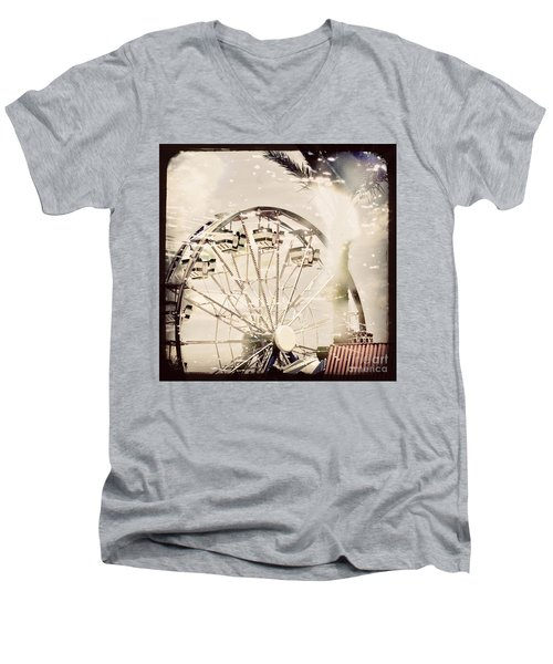 Men's V-Neck T-Shirt featuring the photograph Summer Fun by Trish Mistric