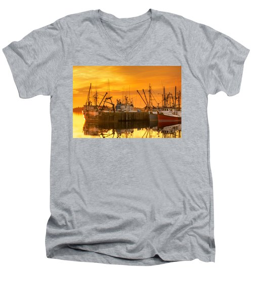 Summer Nights Men's V-Neck T-Shirt