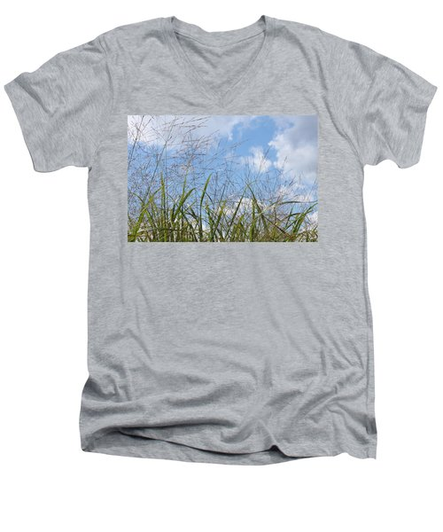 Summer Sky Men's V-Neck T-Shirt